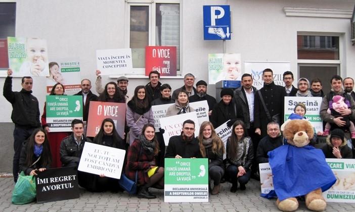 40 de zile de post și rugăciune, pentru oprirea avorturilor în Cluj