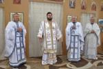 """Liturghie arhierească la biserica """"Nașterea Maicii Domnului"""" din Zalău"""