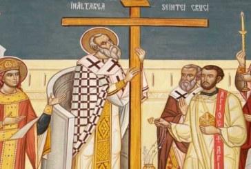 Agenda ierarhilor din Mitropolia Clujului de praznicul Înălţării Sfintei Cruci