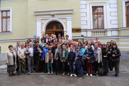 Oaspeți din Ucraina pe meleaguri bistrițene