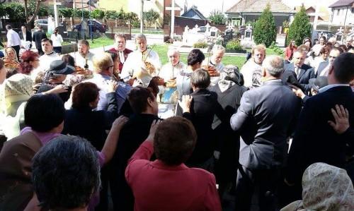Parohia clujeană Sânicoară, în sărbătoare