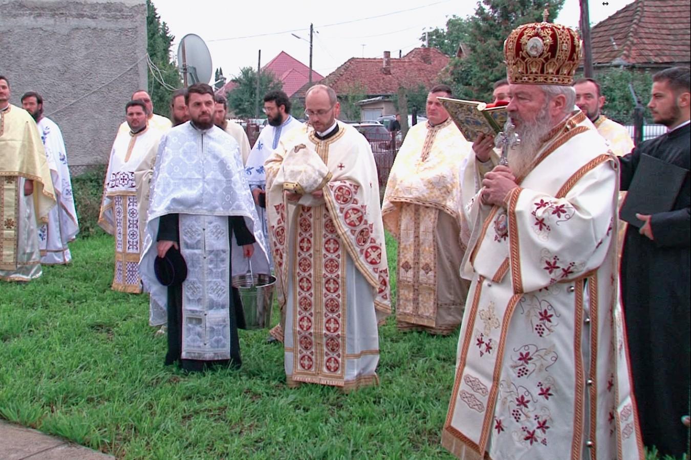 Biserica parohiei Jucu Gară, resfințită de Mitropolitul Clujului