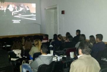 Seară de film cu tinerii ortodocși ai protopopiatului Bistrița