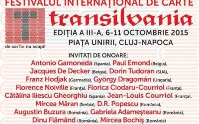 Trei lansări de carte ale Editurii Renașterea, la Festivalul Internațional de Carte Transilvania 2015