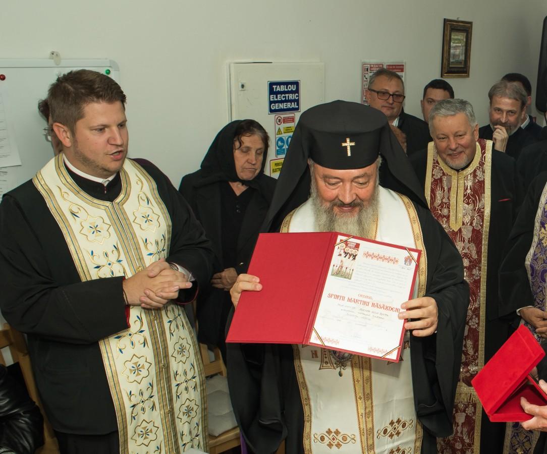 """Capela Centrului pentru persoane vârstnice """"Sfinții Ioachim și Ana"""", sfințită de Mitropolitul Clujului"""