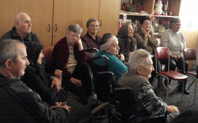 """Ziua Internațională a Vârstnicului, la Căminul de Îngrijire și Asistență """"Sfântul Nicolae"""" din Mociu"""