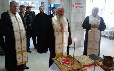 Turdenii s-au bucurat de vizita Mitropolitului Andrei, la binecuvântarea lucrărilor Spitalului Municipal