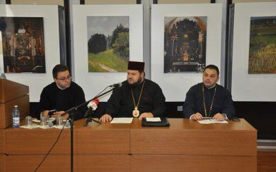 """Debut al seriei de conferințe """"Glasul Bisericii în cetate"""", în Episcopia Sălajului"""