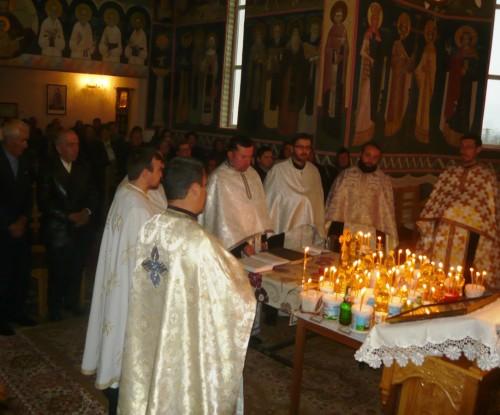 Hram și Cerc preoțesc la Berchieșu