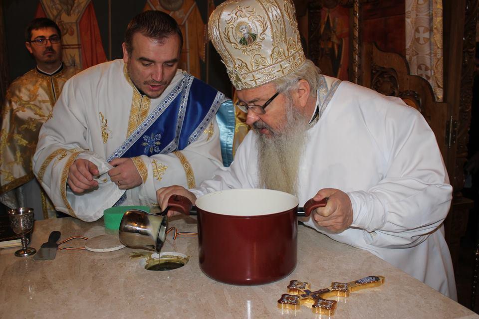 Sfințirea capelei Sf. Ecaterina, a școlii gimnaziale din cadrul Seminarului Teologic Ortodox Cluj