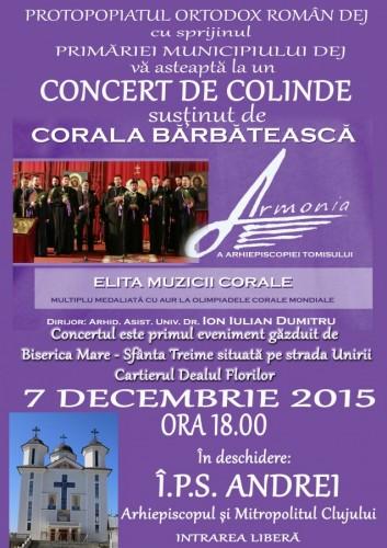 Campanie filantropică și evenimente culturale inedite organizate în Dej, în preajma sărbătorilor de iarnă