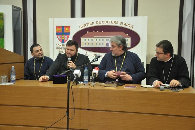 Părintele profesor Ioan Chirilă a conferențiat la Zalău