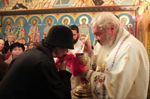 Sfințirea bisericii din Cornești, protopopiatul Turda