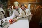 PS Iustin Sigheteanul a târnosit biserica din Parohia Hovrila, Protopopiatul Chioar