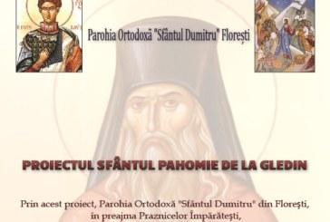 """Colectă de alimente în parohia """"Sfântul Dumitru"""" din Florești"""