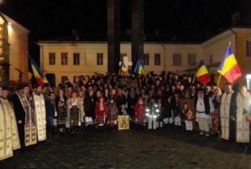 Bucuria de a fi creștin român – de 1 Decembrie la Bistrița