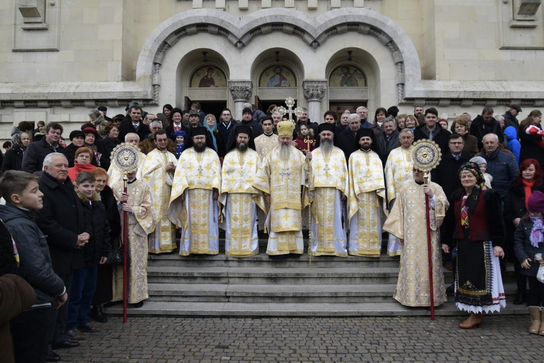 Praznicul Nașterii Domnului, bucurie mare pentru preoții și credincioșii clujeni