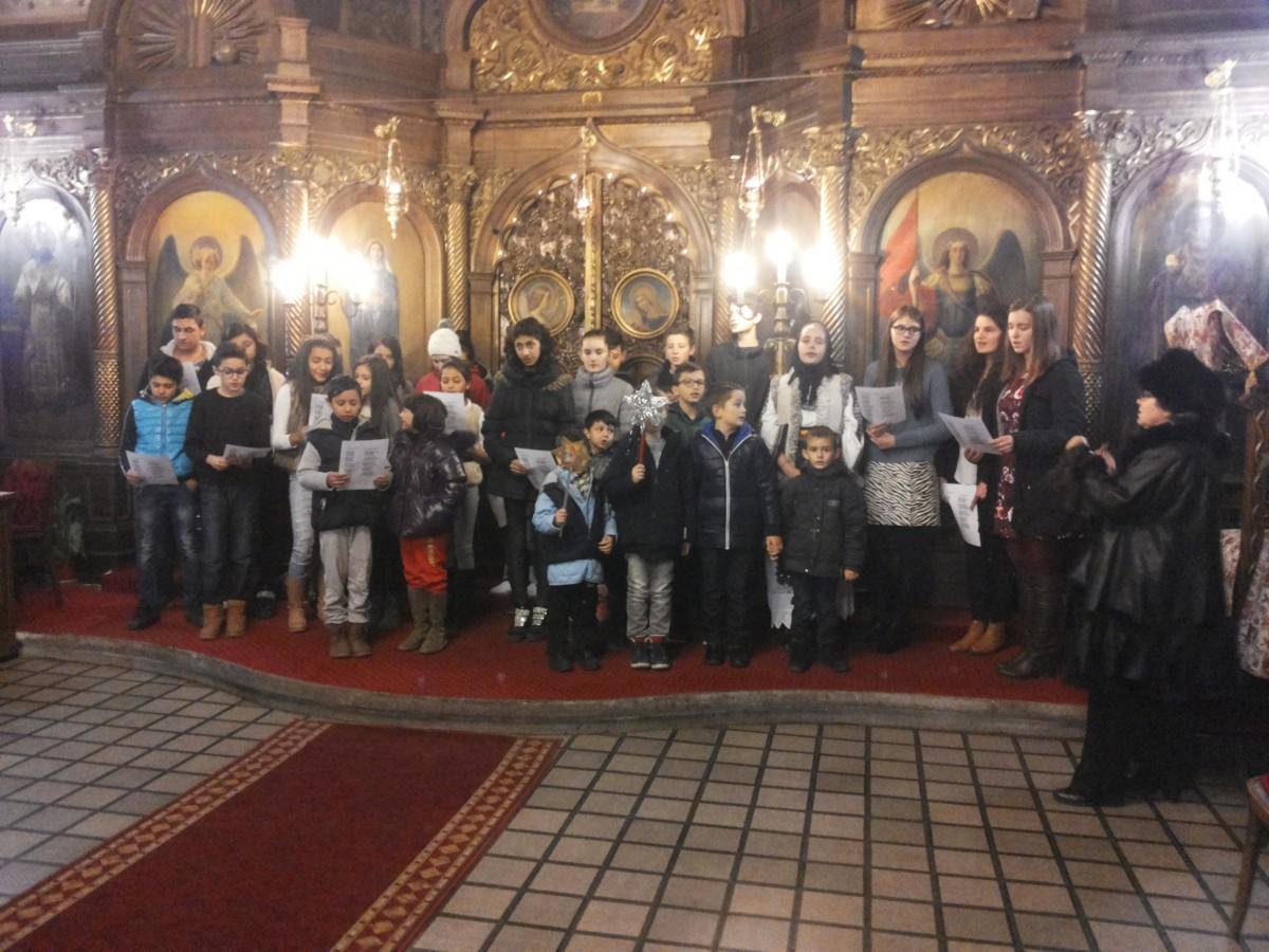 Colinde în parohia Sf. Nicolae din Cluj-Napoca