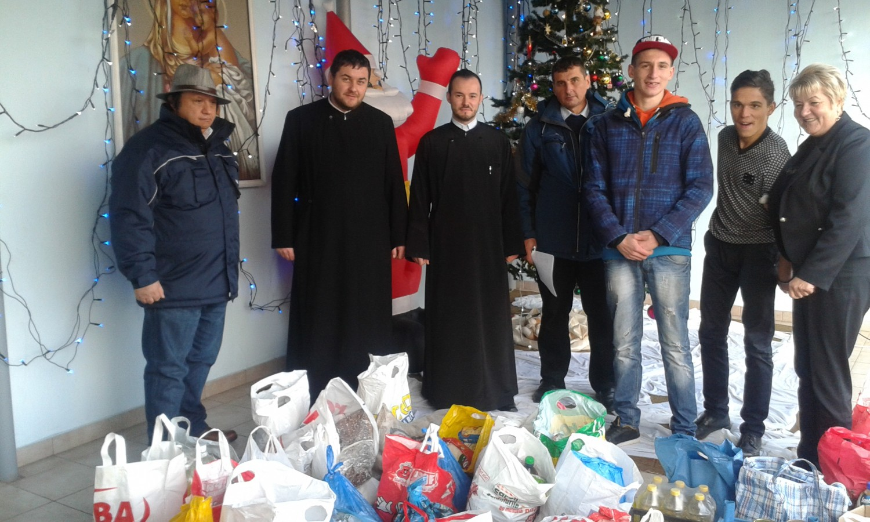 Mobilizare în parohiile din Beclean pentru ajutorarea celor sărmani