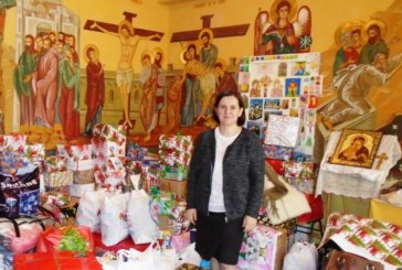 """Școlarii de la unitatea de învățământ """"Constantin Brâncuși"""", aproape de cei nevoiași"""