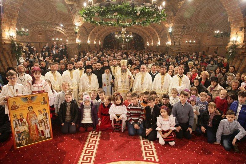 """Praznicul Naşterii Domnului la Catedrala Episcopală """"Sfânta Treime"""" din Baia Mare"""