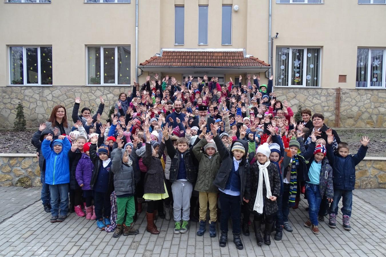 Bucuria Crăciunului, simțită din plin de elevii Seminarului Teologic Ortodox din Cluj