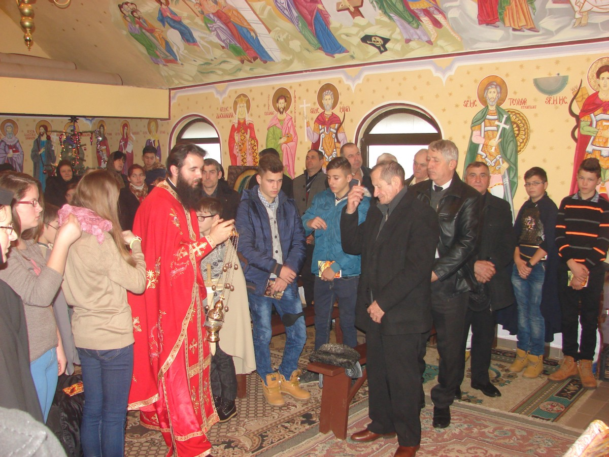 A doua zi de Crăciun, zi de mare bucurie duhovnicească pentru obștea Mănăstirii din Pădureni