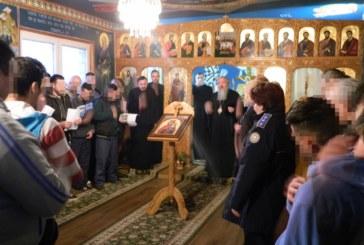 Vizita Mitropolitului Andrei, la Penitenciarul Bistrița