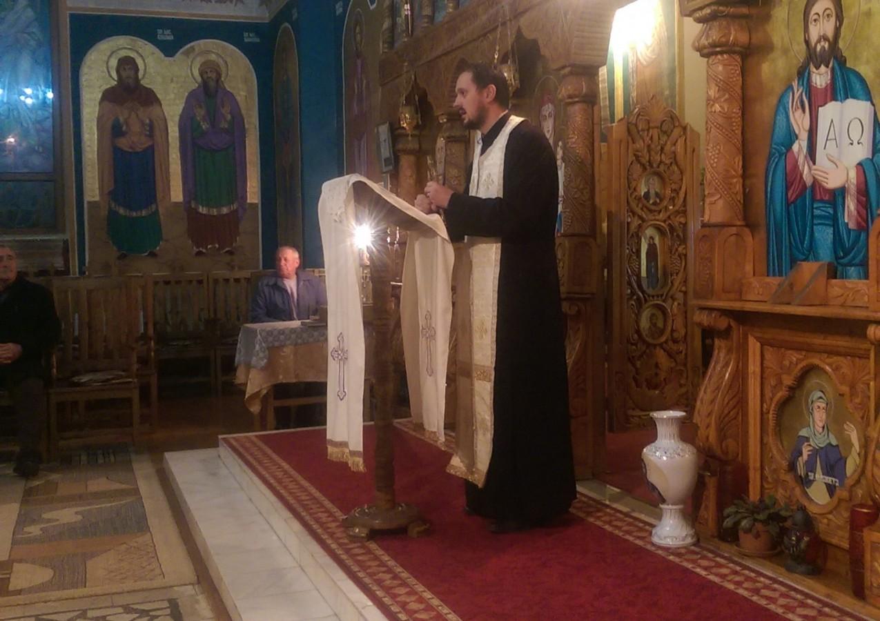 Seară duhovnicească în parohia clujeană Sânnicoara