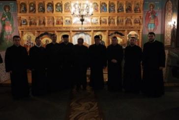 Cercul preoțesc din zona de câmpie al protopopiatului Beclean, reunit la Biserica din Țagu