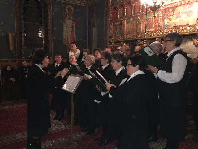 Concert ecumenic de colinde în Baciu