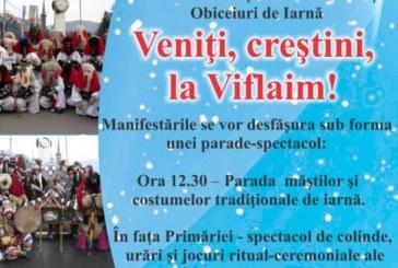 """Festivalul Naţional de Colinde şi Obiceiuri de Iarnă """"Veniţi, creştini, la Viflaim!"""", în curând la Vișeu de Sus"""