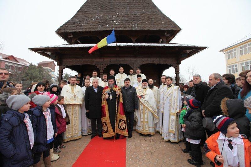 """Hram la Liceul Teologic """"Nicole Steinhardt"""" din Satu Mare"""