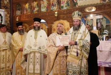 Liturghie arhierească la Moisei