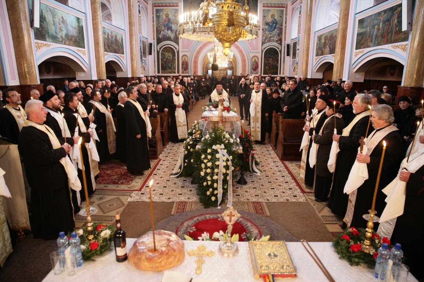 Fostul vicar administrativ al Arhiepiscopiei Vadului, Feleacului şi Clujului a fost înmormântat în Baia Mare