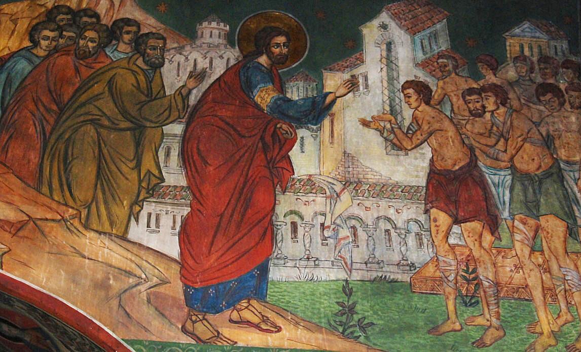 Bunătatea lui Dumnezeu – vindecarea celor zece leproși