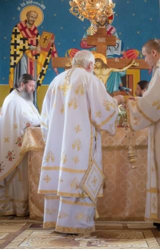 Binecuvântare arhierească pentru comunitatea ortodoxă din localitatea bistrițeană Viile Tecii