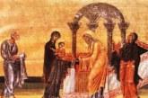 <span style='color:#B00000  ;font-size:14px;'>Pr. Ioan Bizău</span> <br> Întâmpinarea Domnului – Evanghelie și Liturghie</p>