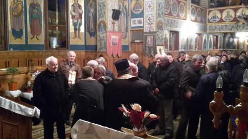Seară duhovnicească, în parohia Aghireșu Fabrici