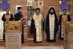 Rugăciune pentru poporul grec, oficiată de Mitropolitul Pavlos de Drama și ÎPS Andrei