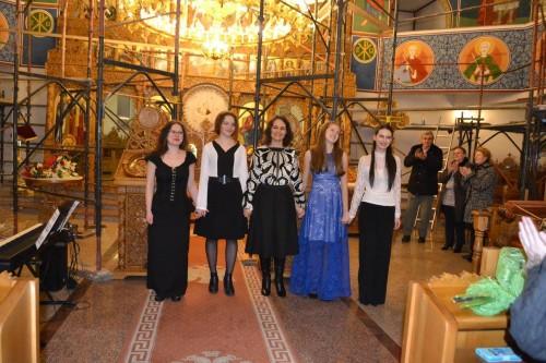 """Recital de canto, în Biserica """"Sfântul Apostol Andrei"""" din Beclean"""