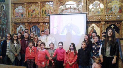 Întâlnirea tinerilor și procesiune de Florii, în parohia Mica