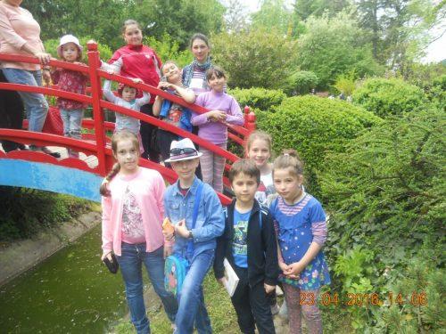 Activitate în aer liber pentru copiii din Florești