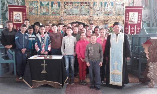 Săptămână duhovnicească la Școala Gimnazială Mociu