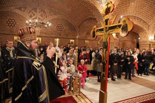Denia celor 12 Evanghelii la Catedrala Episcopală din Baia Mare