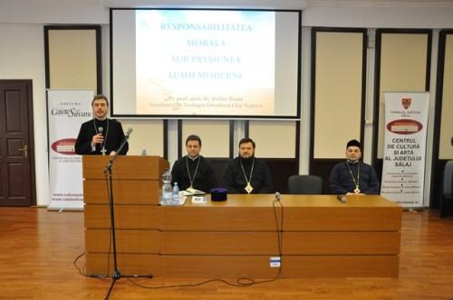 Conferință a Părintelui Prof. Univ. Dr. Ștefan Iloaie la Zalău
