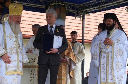 Hram la Mănăstirea Sfânta Elisabeta din Cluj-Napoca, în Duminica Floriilor