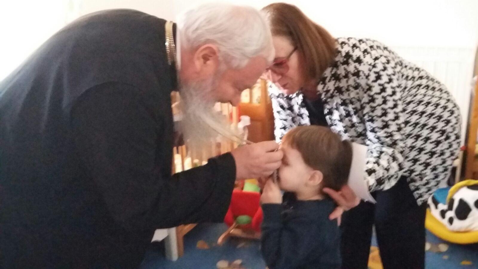Bucuria Învierii vestită la copiii săraci și bolnavi din Cluj și Beclean