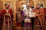 Liturghie arhiereasca la biserica cu hramul Duminica Mironosiţelor din Baia Mare în a treia duminică din Postul Mare, Duminica Sfintei Cruci.