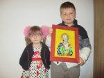 """Vernisajul expoziției de icoane pe sticlă, realizate de copiii Parohiei clujene """"Sfânta Treime"""""""